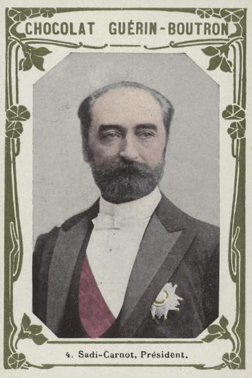Sadi-Carnot, President--Giclee Print