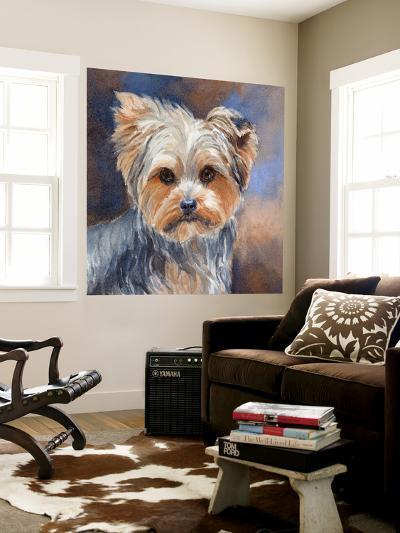 Sadie Belle Yorkshire Terrier-Edie Fagan-Wall Mural