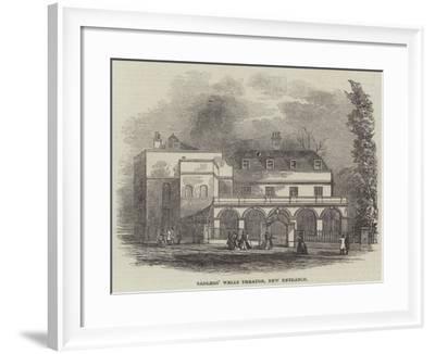 Sadlers' Wells Theatre, New Entrance--Framed Giclee Print