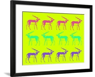 Safari 12-NaxArt-Framed Art Print