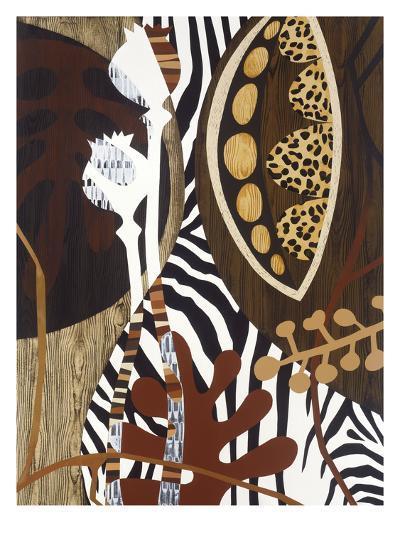 Safari 1-Mary Calkins-Premium Giclee Print