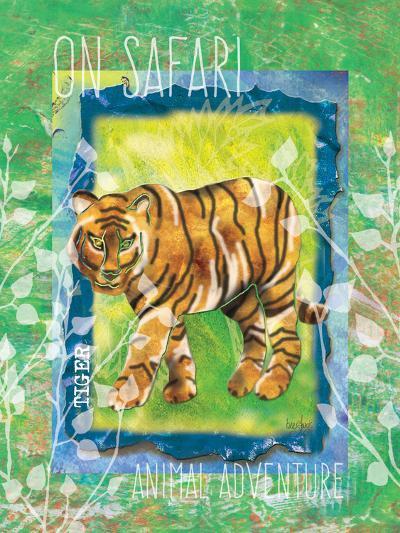 Safari Adventure Jungle Tiger-Bee Sturgis-Art Print