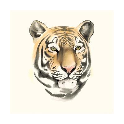 Safari Cat III-Grace Popp-Art Print