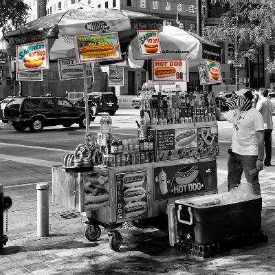 Safari CityPop Collection - NYC Hot Dog with Zebra Man II-Philippe Hugonnard-Photographic Print