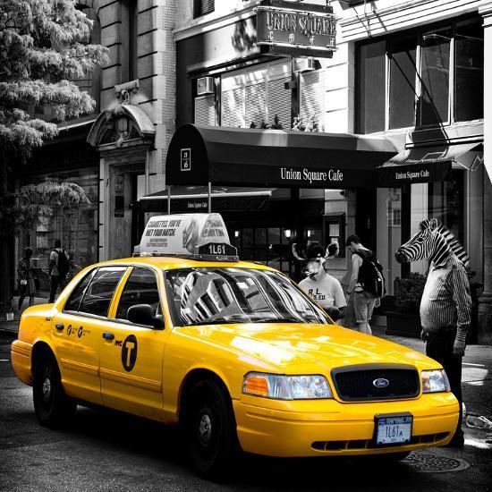 Safari CityPop Collection - NYC Union Square III-Philippe Hugonnard-Photographic Print