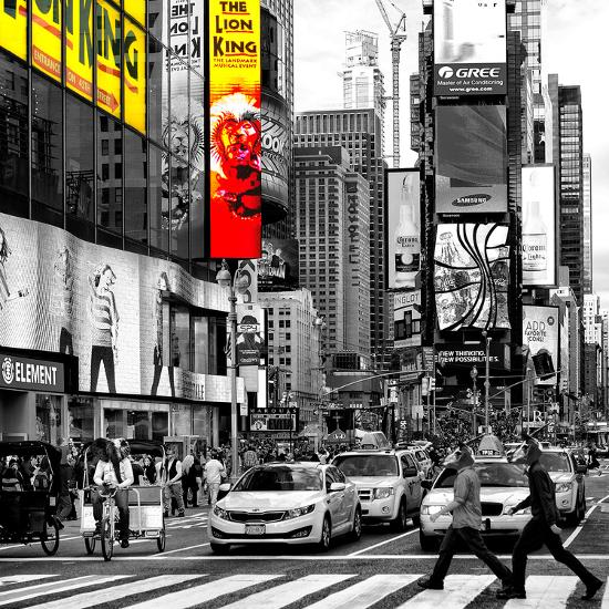 Safari CityPop Collection - Times Square Lion King IV-Philippe Hugonnard-Photographic Print