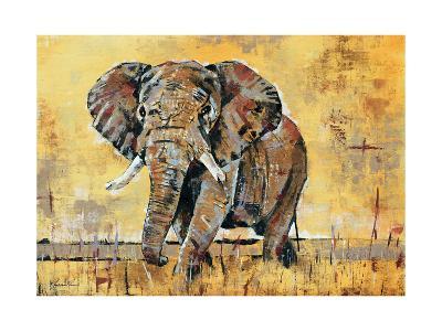 Safari Elephant-Madelaine Morris-Premium Giclee Print