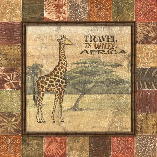Safari I-Charlene Audrey-Art Print