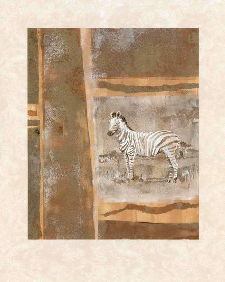 Safari II-Zella Ricci-Art Print