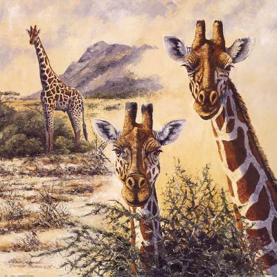 Safari IV-Gary Blackwell-Art Print