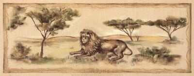 Safari Lion-Ann Brodhead-Art Print