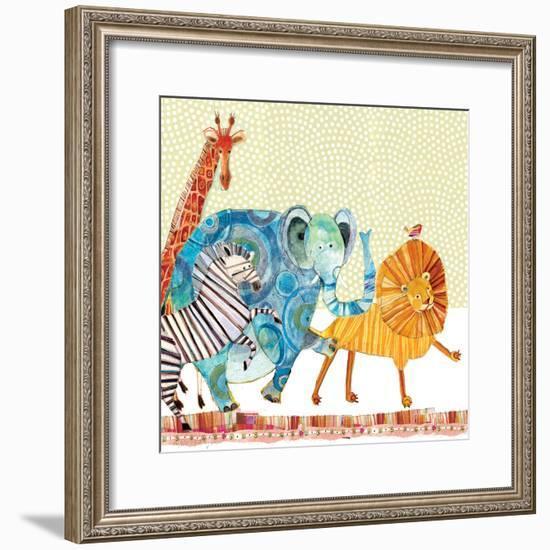 Safari Parade-Robbin Rawlings-Framed Art Print