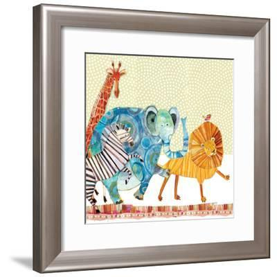Safari Parade-Robbin Rawlings-Framed Art Print