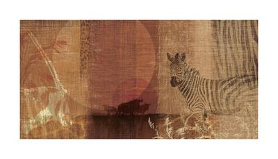 Safari Sunset I-Tandi Venter-Giclee Print
