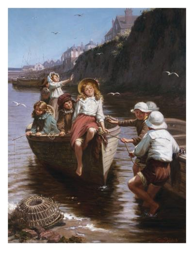 Safe in Harbour-Edwin Roberts-Giclee Print