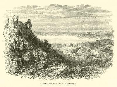 Safed and the Lake of Galilee--Giclee Print