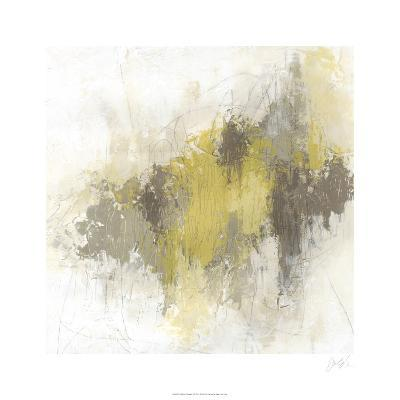 Saffron Abstract I-June Erica Vess-Limited Edition
