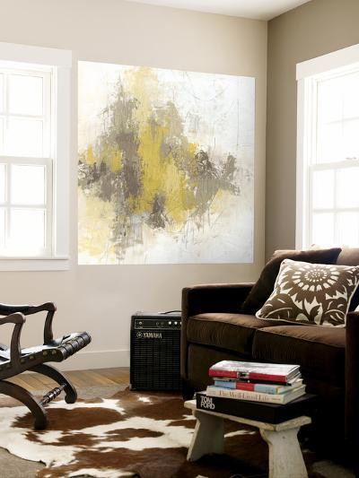 Saffron Abstract II-June Erica Vess-Wall Mural