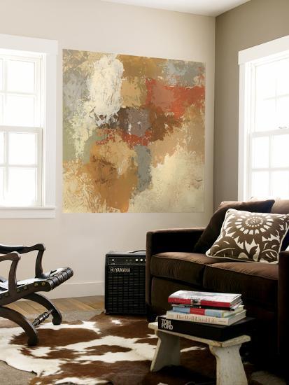 Saffron Fresco I-June Erica Vess-Wall Mural