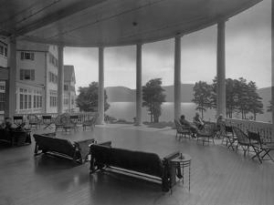 Sagamore Hotel Porch Overlooking Lake George