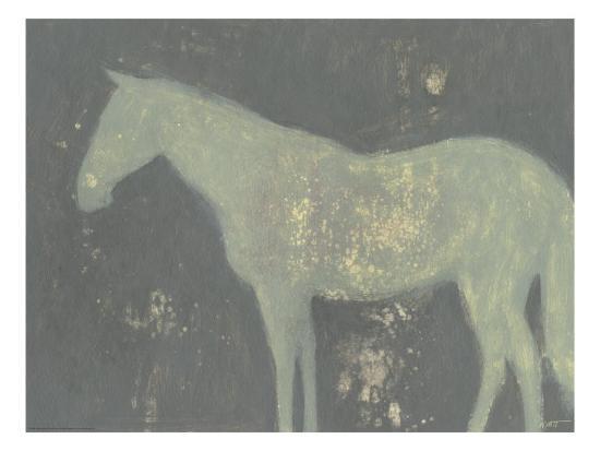 Sage Horse-Norman Wyatt Jr^-Art Print