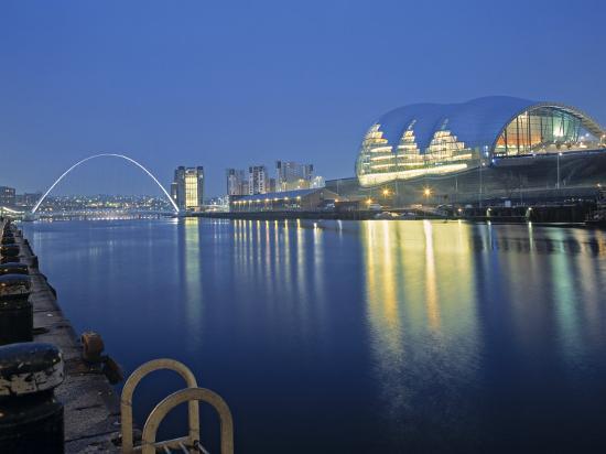 Sage Theatre, Gateshead, Newcastle, Tyne and Wear, England-Robert Lazenby-Photographic Print
