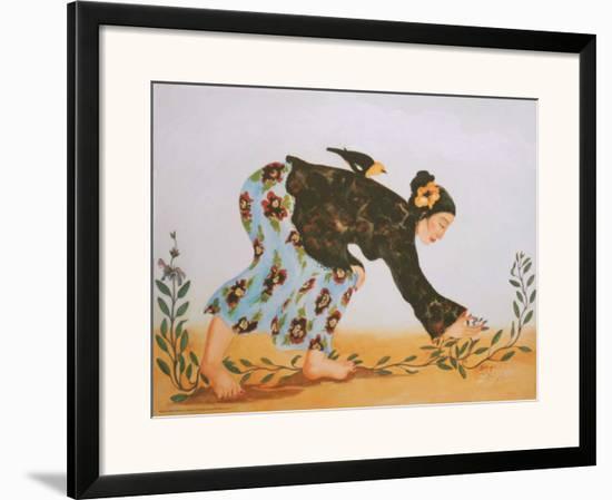Sage-Carol Grigg-Framed Art Print