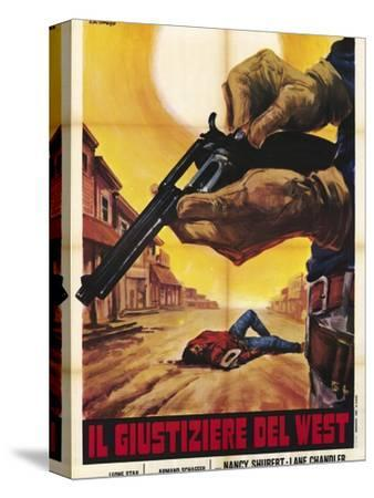 Sagebrush Trail, Italian Movie Poster, 1940