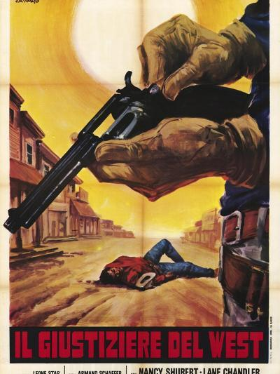 Sagebrush Trail, Italian Movie Poster, 1940--Art Print