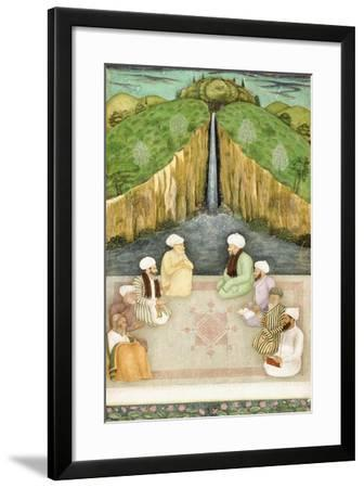 Sages in Religious Discussion, C.1680--Framed Giclee Print