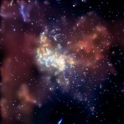 Sagittarius A, X-ray Image--Photographic Print