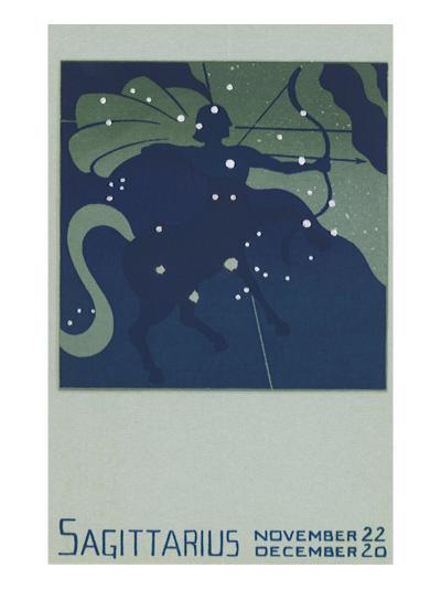 Sagittarius the Archer--Giclee Print
