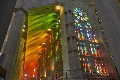 Sagrada Familia, Barcelona, Catalonia, Spain-Mark Mawson-Photographic Print