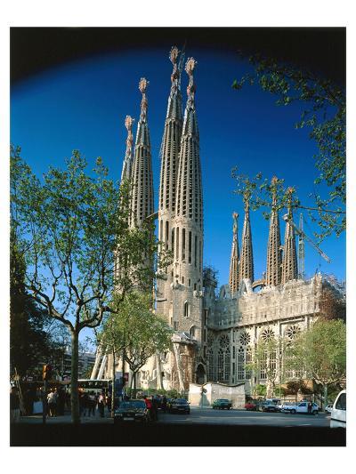 Sagrada Familia Barcelona Spain--Art Print