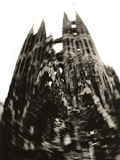 Sagrada Familia, Barcelona, Spain-Jon Arnold-Photographic Print