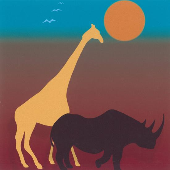 Sahara III-Mercier-Art Print