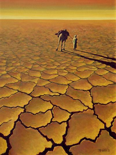 Saharan Journey, 1995-Tilly Willis-Giclee Print