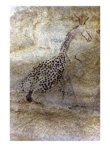 Saharan Rock Painting