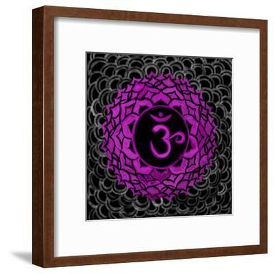 Sahasrara - Crown Chakra, Thousandfold-Veruca Salt-Framed Art Print