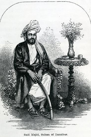Said Majid, Sultan of Zanzibar--Giclee Print