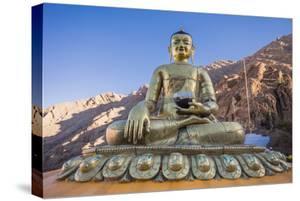 Buddha Statue at Hemis Monastery by saiko3p