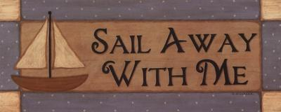 Sail Away With Me-Sue Allemand-Art Print
