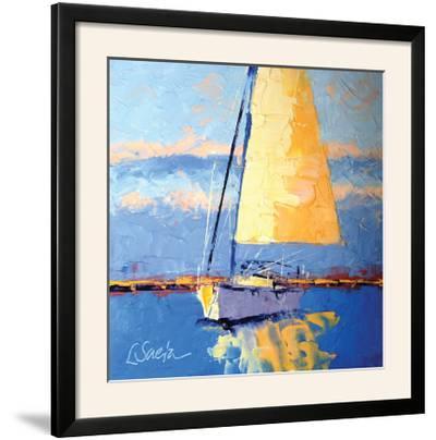 Sail Away-Leslie Saeta-Framed Photographic Print