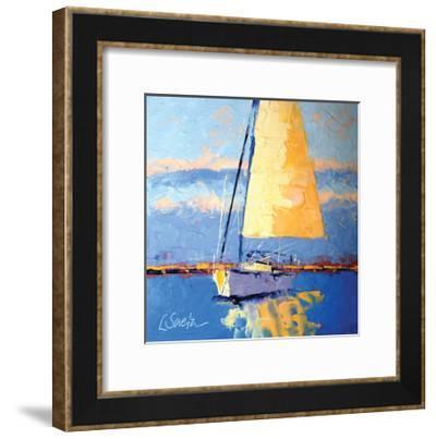 Sail Away-Leslie Saeta-Framed Art Print