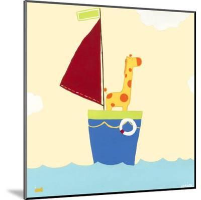 Sailboat Adventure I-Erica J^ Vess-Mounted Print