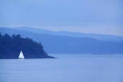 Sailboat on Ocean.-Grant Faint-Photographic Print