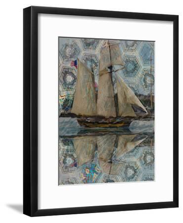 Sailboat-Sarah Butcher-Framed Art Print
