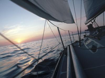 Sailboat-Steve Essig-Photographic Print