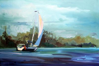 Sailboat-Carol Hallock-Art Print