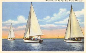 Sailboats, Door County, Wisconsin